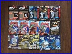 (15) Metal Earth 3D Model Kits Lot Of 15 Star Wars Batman Avengers More
