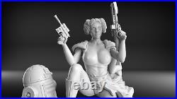 16 Princess Leia NSFW Model Resin Garage Kit
