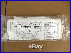1977 Estes Star Wars X-Wing Fighter Flying Model Rocketry Outfit 1422 Vintage