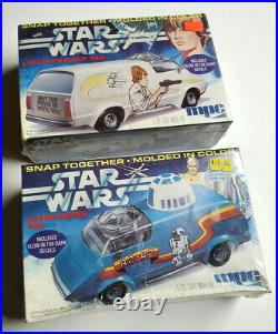 1977 Star Wars VAN MPC #1-3210/3211 Model Kit Collection-Your Choice of 2 Sealed