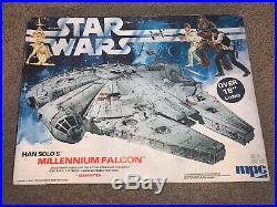 1979 Han Solo's Star Wars Millennium Falcon Mpc Model Kit New Sealed Bags