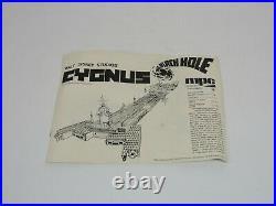 1979 MPC The Black Hole CYGNUS Spaceship 14225 Scale Model Kit Parts