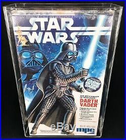 1979 STAR WARS Vintage MPC Darth Vader Model Kit AFA Graded 85 NM+ Sealed MIB
