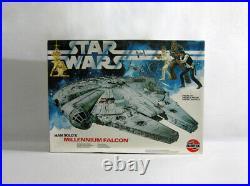 1979 Vintage Star Wars MILLENNIUM FALCON Airfix Model Kit UNUSED E45