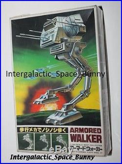 1980 Japan Star Wars Armored Walker (AT-ST) Model Kit Unused