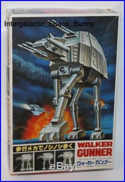 1980 Japan Star Wars Armored Walker (At-At) Model Kit Unused