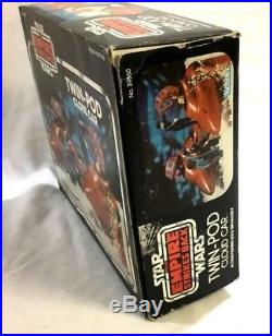 1980 Vintage Star Wars ESB Bespin Cloud Car Complete Boxed Instructions Catalog