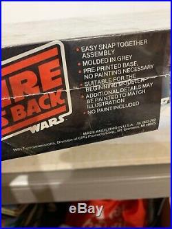 1981 Star Wars The Empire Strikes Back Snap Action Scene Model Kit New Sealed