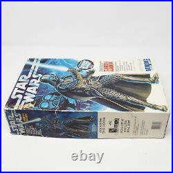 1992 Mpc Ertl Star Wars Darth Vader 11.5 Figure Authentic Scale Model Kit Boxed