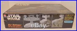 1995 AMT STAR Wars STAR DESTROYER with FIBER OPTIC LIGHTING Model Kit SEALED