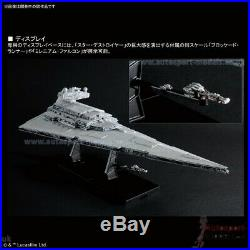 1/5000 Imperial Star Destroyer Star Wars Limited Edition LED model kit by Bandai