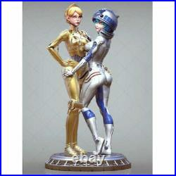 1/6 330mm Resin Figure Model Kit Sexy Girls Star Wars Droids Unpainted Unassambl