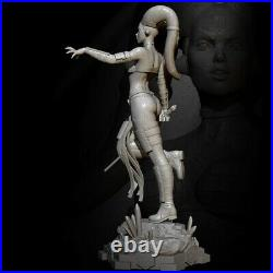 1/6 360mm Resin Figure Model Kit Sexy Girl Star Wars Night Assassin Unpainted