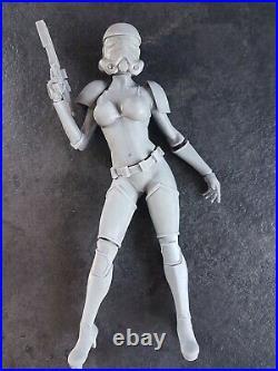 1/6 scales 30cm Star Wars Female Stormtrooper resin model kit