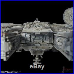 1/72 Star Wars Millennium Falcon Perfect Grade model kit by Bandai (non LED)