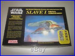 1st Fine Molds 1/72 STAR WARS BOBA FETT'S SLAVE I with HAN SOLO Model Kit JAPAN