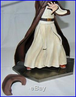 2012 Star Wars Artfx Obi-Wan Kenobi 17 Scale Pre-Painted Model Kit Complete