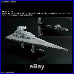 2019 Bandai Star Destroyer 1/5000 Scale Plastic Model Kit Star Wars