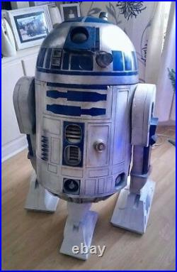 3-D Printed Star Wars R2D2 legs and feet kit