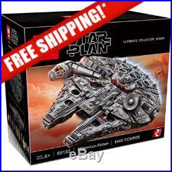 8445Pcs LEGO Star Wars Ultimate Millennium Falcon 75192 Model Building Kit (DHL)