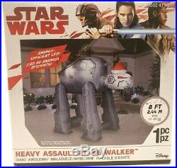8 Ft STAR WARS GORILLA HEAVY ASSAULT AT-M6 WALKER Airblown Yard Inflatable