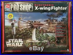 AMT/ERTL Pro Shop Electronic X-wing Fighter Star Wars Animated Model Kit NISB