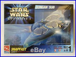 AMT ERTL Snapfast Star Wars Episode 1, GUNGAN SUB 1/48 scale Model Kit 30119