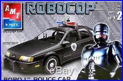 AMT Robocop Police Car Model Kit NEW Sealed
