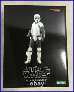 ARTFX Star Wars Return of the Jedi Scout Trooper PVC Simple Assembly Model kit