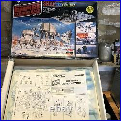 Airfix Star Wars Vintage Snapfix Scene BATTLE ON ICE PLANET HOTH Kit Model Kit