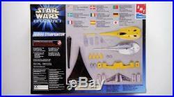 Amt Ertl 1/48 Star Wars Naboo Starfighter Die Cast Model Kit New In Box