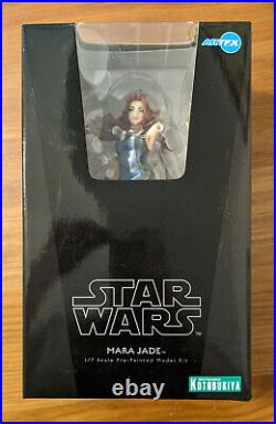 ArtFX Kotobukiya Star Wars Mara Jade 1/7 Pre-Painted Model Kit