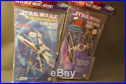 Assortment of TWO ESTES Star Wars Flying Model Rocket Kits Rare