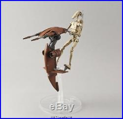 BANDAI 1/12 BATTLE DROID & STAP Plastic Model Kit Star Wars NEW from Japan