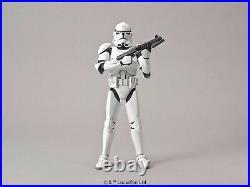 BANDAI 1/12 CLONE TROOPER Plastic Model Kit Star Wars NEW from Japan