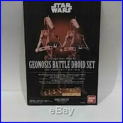 BANDAI 1/12 Star Wars GEONOSIS BATTLE DROID SET Plastic Model Kit Japan new