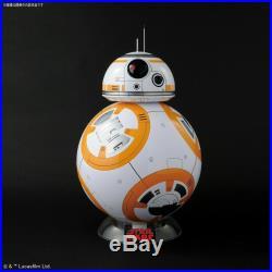 BANDAI 1/2 Star Wars THE LAST JEDI BB-8 GLOSS FINISH Plastic Model Kit