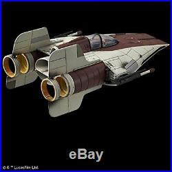 BANDAI 1/72 A-WING STARFIGHTER Plastic Model Kit Star Wars Episode 6 NEW Japan