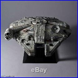 BANDAI 1/72 Star Wars PERFECT GRADE MILLENNIUM FALCON STANDARD Ver Model Kit NEW