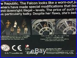BANDAI 1/72 Star Wars PERFECT GRADE MILLENNIUM FALCON STANDARD Ver NEW Kit Model