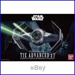 BANDAI 1/72 TIE ADVANCED x1 Plastic Model Kit STAR WARS from Japan