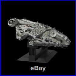 BANDAI PG 1/72 Millennium Falcon Star Wars big size limited scale model kit