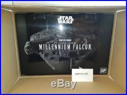 BANDAI PG Perfect Grade 1/72 Star Wars A New Hope Millennium Falcon KIT- NEW