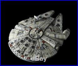 BANDAI STAR WARS PERFECT GRADE 1/72 MILLENNIUM FALCON PREMIUM Ver & LED Light