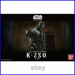 BANDAI STAR WARS ROGUE ONE K-2SO 1/12 Plastic Model Kit NEW from Japan F/S