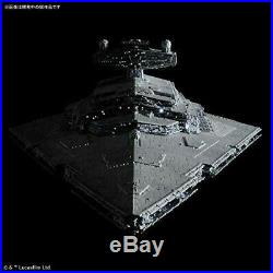 BANDAI STAR WARS Star Destroyer 1/5000 Kit Lighting Model Limited 4573102576255