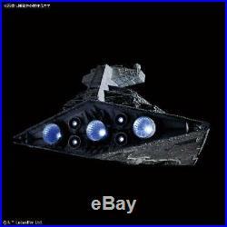 BANDAI STAR WARS Star Destroyer 1/5000 Kit Lighting Model Limited EMS withTracking