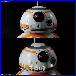 BANDAI Star Wars BB-8 gloss finish 1/2 Scale Plastic Model Kit