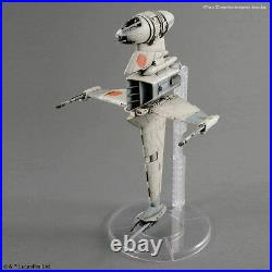 BANDAI Star Wars B Wing Starfighter 1/72 scale color-coded plastic model