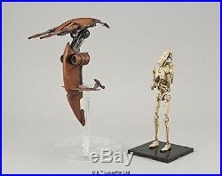 BANDAI Star Wars Plastic model Battle Droid Stap 1/12 scale Figure from JAPAN